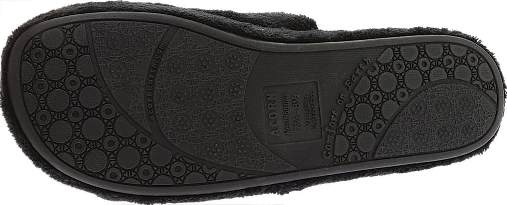 Men's Acorn Spa Slide, Black, large, image 6