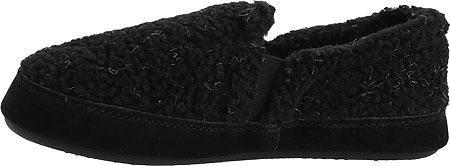 Children's Acorn Colby Gore Moc, Black Berber Textured, large, image 3