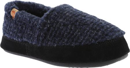Infant Acorn Moc, Blue Check, large, image 1