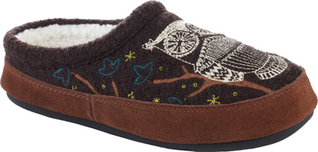Women's Acorn Forest Mule, Chocolate, large, image 1