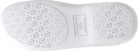 Women's Isotoner Terry Floral Embroidered Clog, Periwinkle, large, image 6