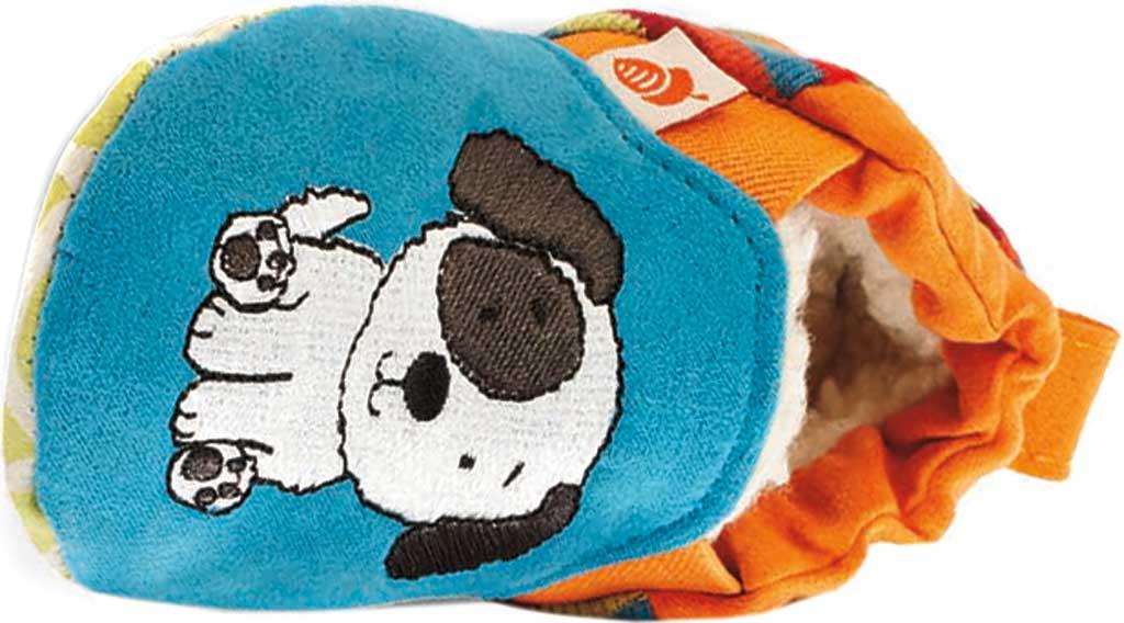 Infant Acorn Easy-On Moc, Teal Puppy, large, image 2