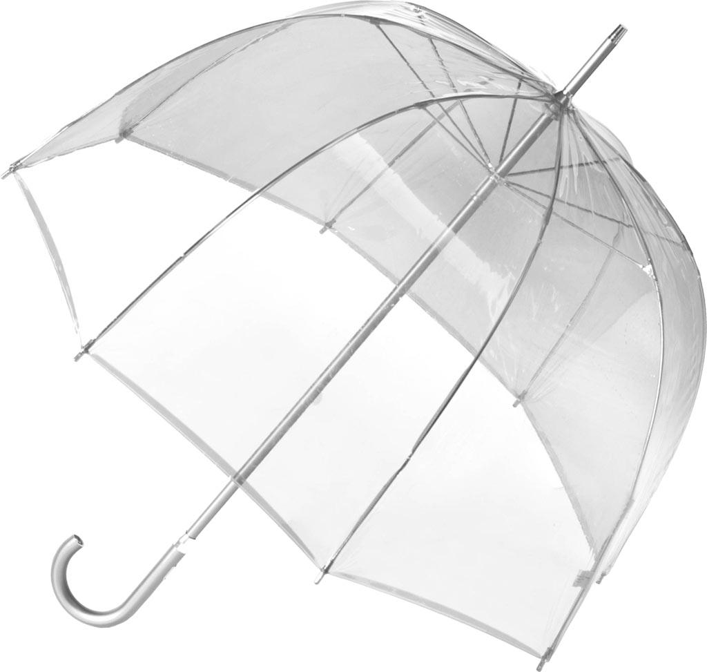 totes Signature Manual Bubble Umbrella, Clear, large, image 1