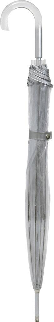 totes Signature Manual Bubble Umbrella, Clear, large, image 2
