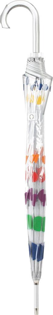 totes Signature Manual Bubble Umbrella, Clear, large, image 3
