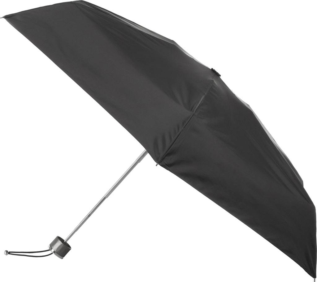 totes Titan Mini Manual NeverWet Umbrella, Black, large, image 1