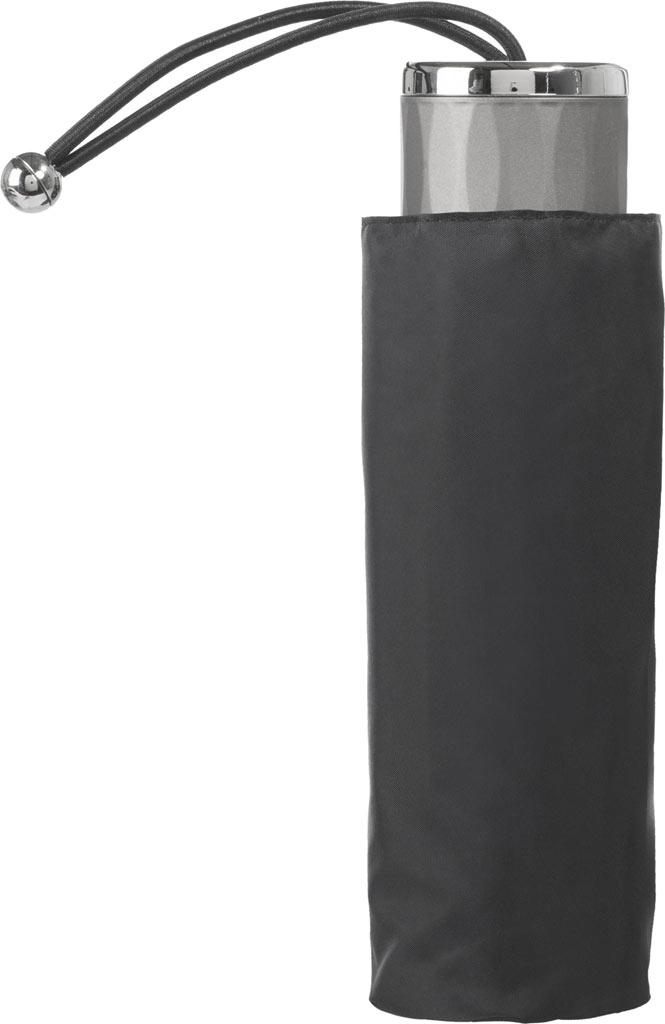 totes Titan Mini Manual NeverWet Umbrella, Black, large, image 3