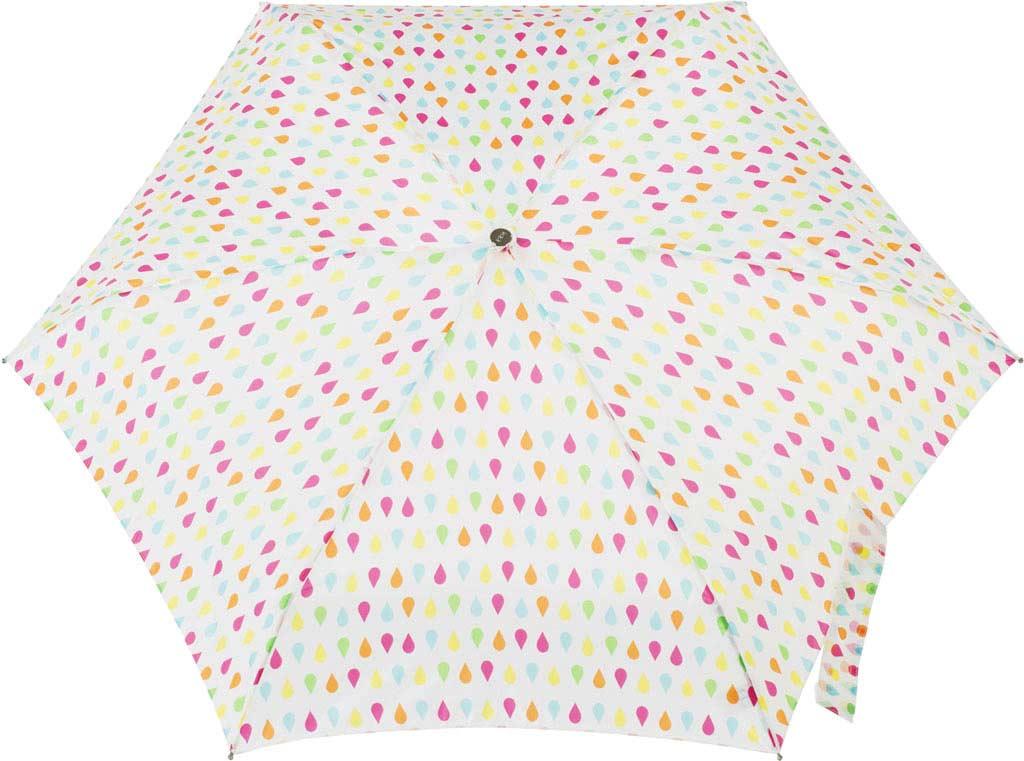 totes Titan Mini Manual NeverWet Umbrella, White Rain, large, image 2