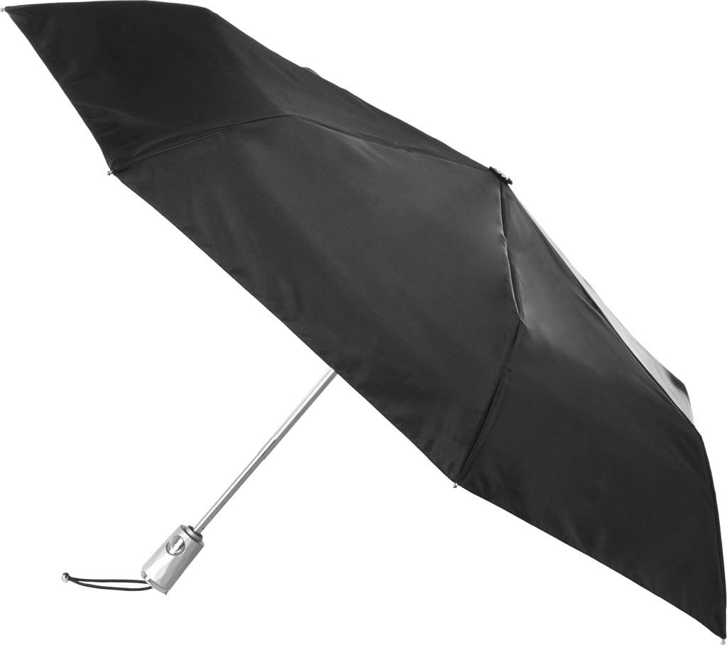 totes Signature Auto Open/Close NeverWet Umbrella, Black, large, image 1