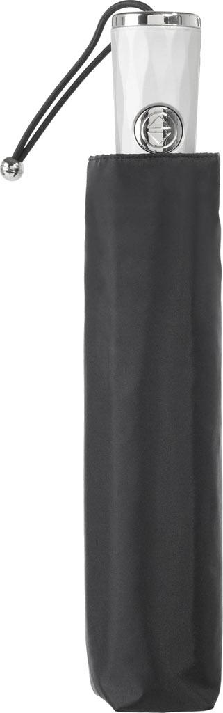 totes Signature Auto Open/Close NeverWet Umbrella, Black, large, image 3