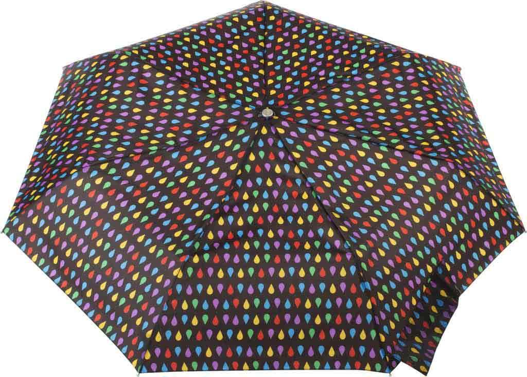 totes Signature Auto Open/Close NeverWet Umbrella, Black Rain, large, image 2