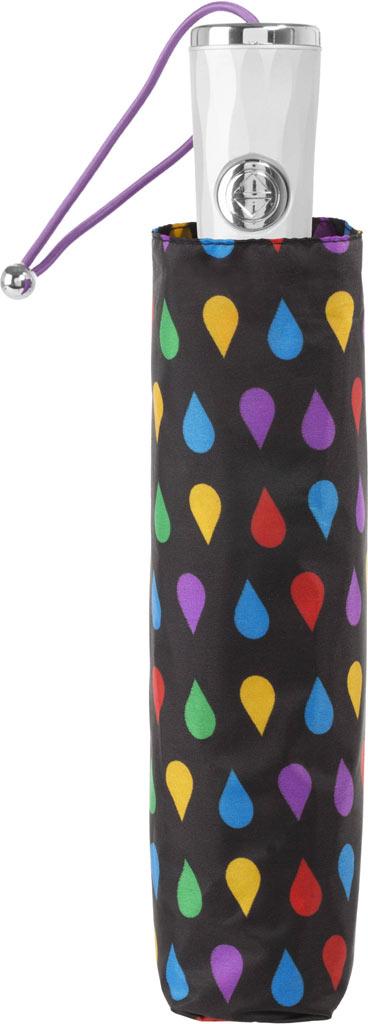 totes Signature Auto Open/Close NeverWet Umbrella, Black Rain, large, image 3