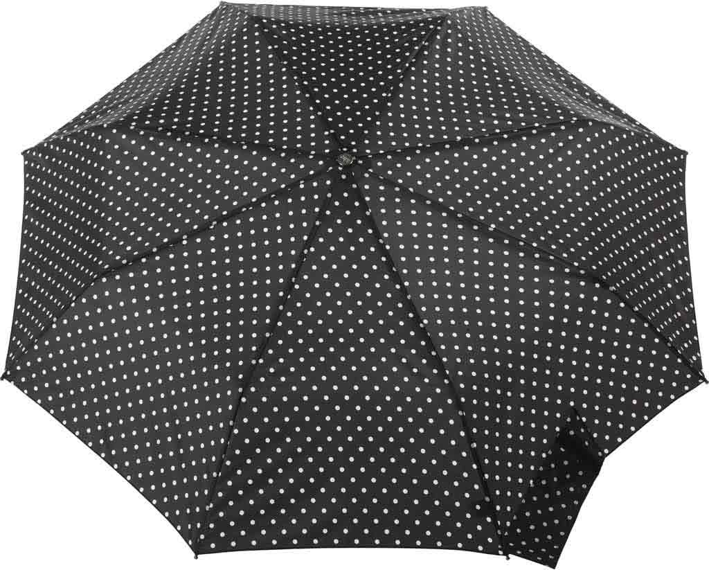 totes Titan Large Auto Open/Close NeverWet Umbrella, Black/White Big Swiss Dot, large, image 2