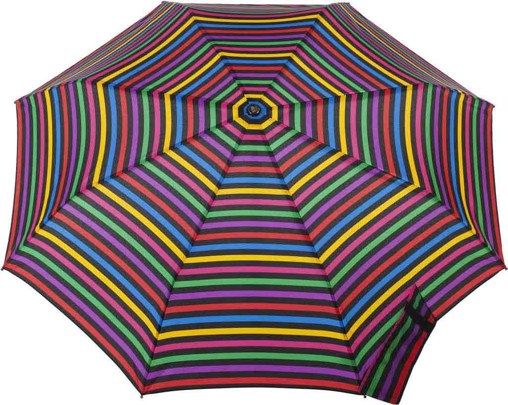 totes Titan Large Auto Open/Close NeverWet Umbrella, Hue Stripe, large, image 2