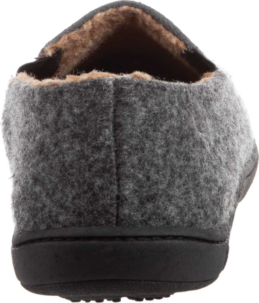 Men's Acorn Crafted Moccasin, Ash Suede/Faux Wool, large, image 3