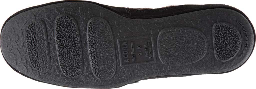 Men's Acorn Bristol Loafer Slipper, Black Knit Tweed, large, image 5