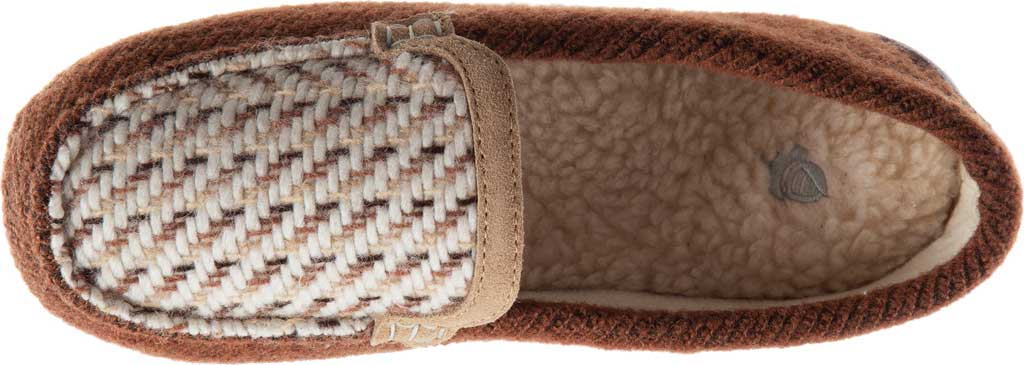 Women's Acorn Andover Driver Moc Slipper, Buckskin Wool/Poly Blend, large, image 4