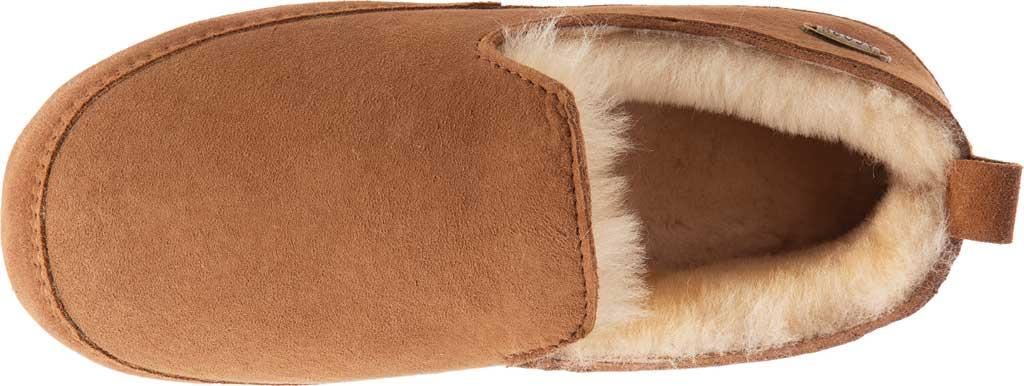 Women's Acorn Ewe Loafer Slipper, Chestnut Double-Faced Sheepskin, large, image 4