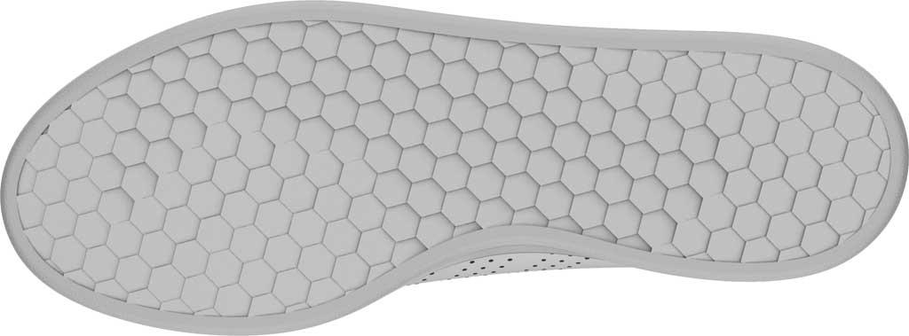 Men's adidas Advantage Sneaker, FTWR White/FTWR White/Green, large, image 6