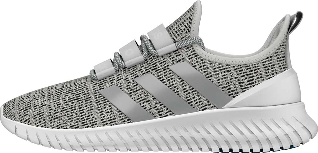 Men's adidas Kaptir Running Shoe, FTWR White/Grey Two/Core Black, large, image 3