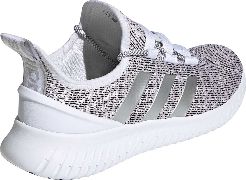 Men's adidas Kaptir Running Shoe, FTWR White/Grey Two/Core Black, large, image 4