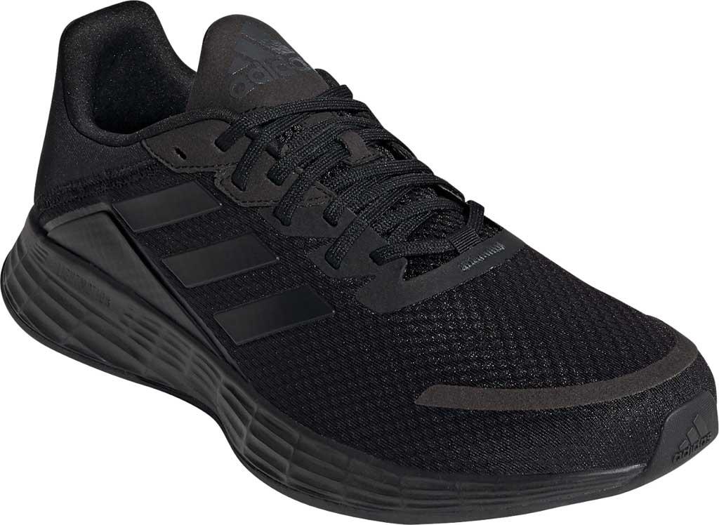 Men's adidas Duramo SL Running Sneaker, Core Black/Core Black/FTWR White, large, image 1