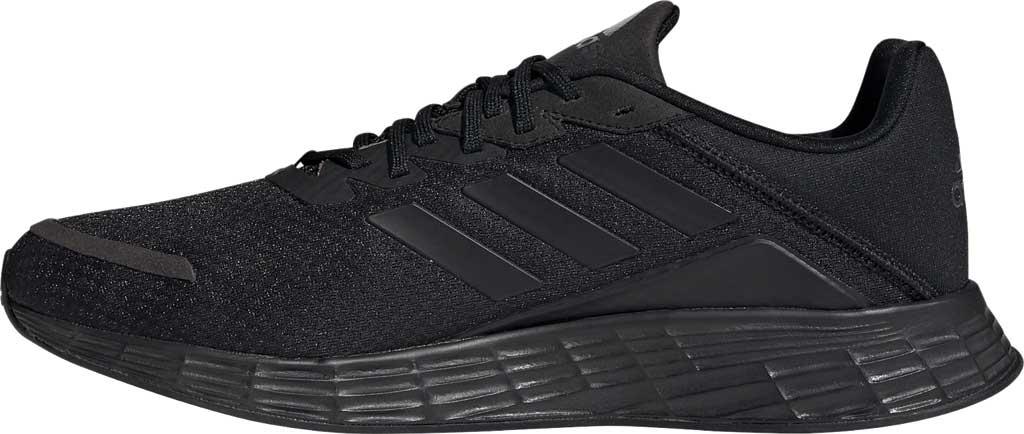 Men's adidas Duramo SL Running Sneaker, Core Black/Core Black/FTWR White, large, image 3