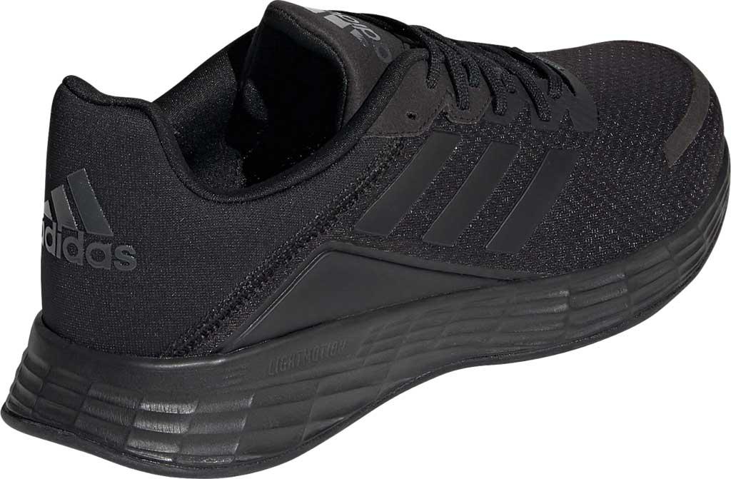 Men's adidas Duramo SL Running Sneaker, Core Black/Core Black/FTWR White, large, image 4