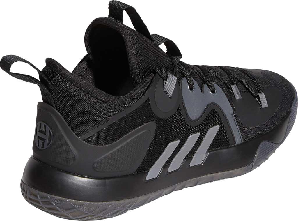 Men's adidas Harden Stepback 2 Basketball Shoe, Core Black/Iron Metallic/Grey Six, large, image 4