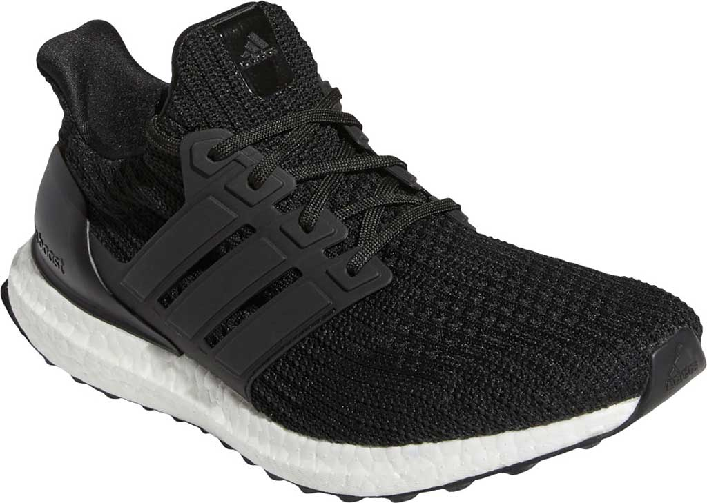 Men's adidas Ultraboost 4.0 DNA Running Sneaker, Core Black/Core Black/FTWR White, large, image 1