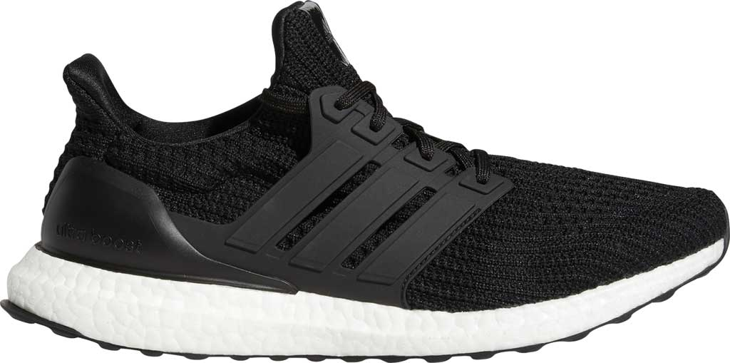Men's adidas Ultraboost 4.0 DNA Running Sneaker, Core Black/Core Black/FTWR White, large, image 2