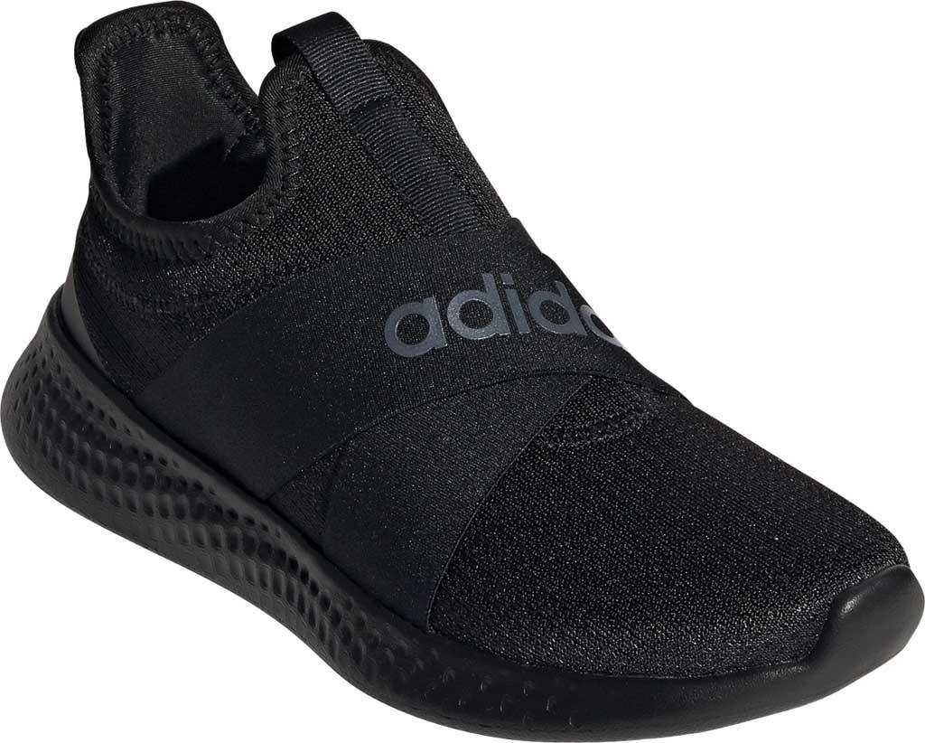 Women's adidas Puremotion Adapt Running Sneaker, Core Black/Core Black/Core Black, large, image 1