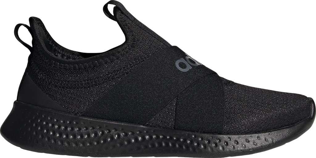 Women's adidas Puremotion Adapt Running Sneaker, Core Black/Core Black/Core Black, large, image 2
