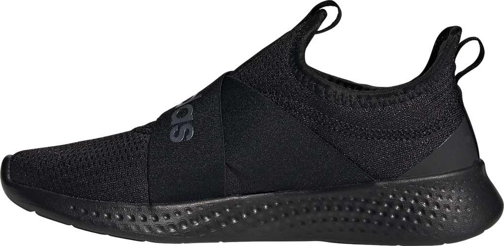 Women's adidas Puremotion Adapt Running Sneaker, Core Black/Core Black/Core Black, large, image 3