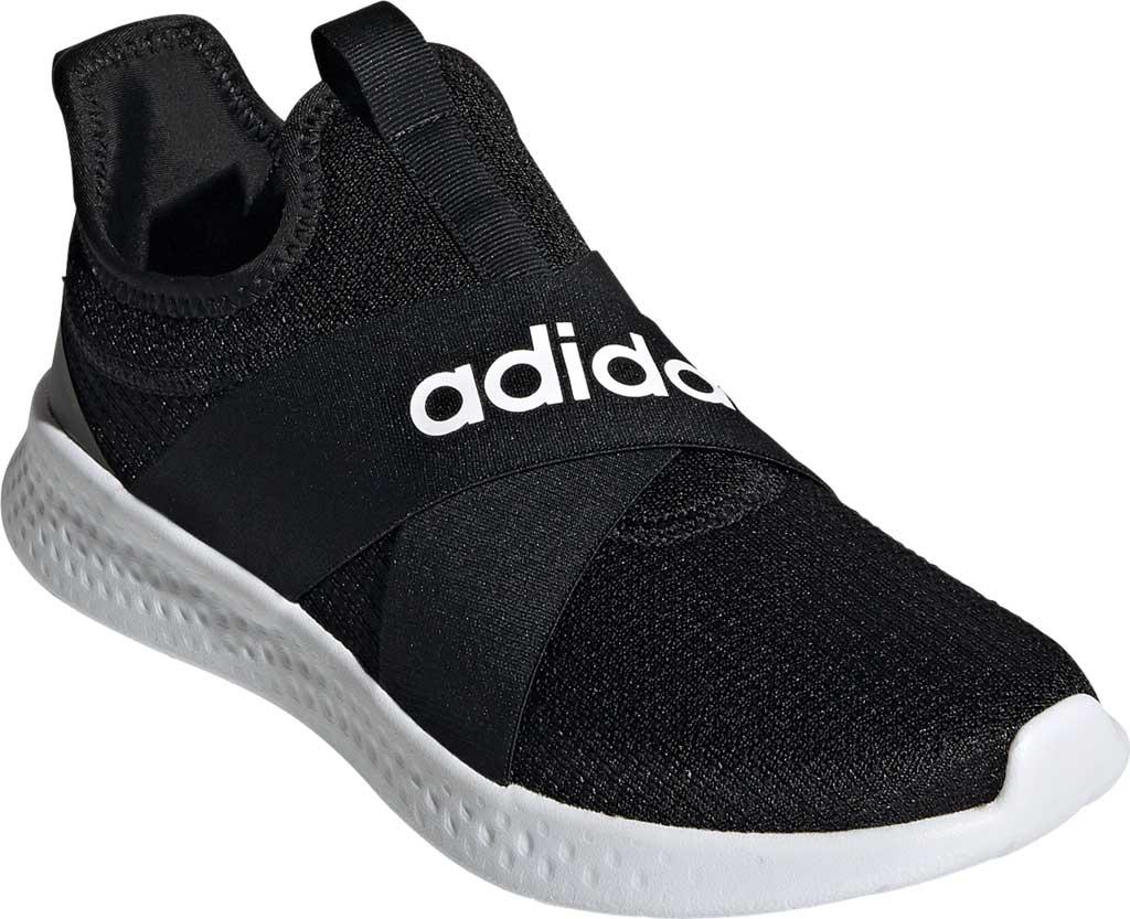 Women's adidas Puremotion Adapt Running Sneaker, Core Black/FTWR White/Grey Five, large, image 1