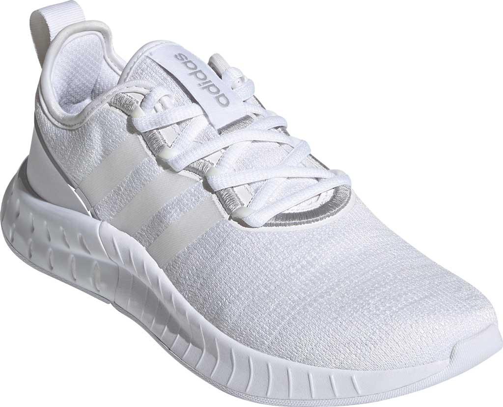 Women's adidas Kaptir Super Running Shoe, FTWR White/FTWR White/Core Black, large, image 1