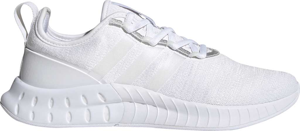 Women's adidas Kaptir Super Running Shoe, FTWR White/FTWR White/Core Black, large, image 2