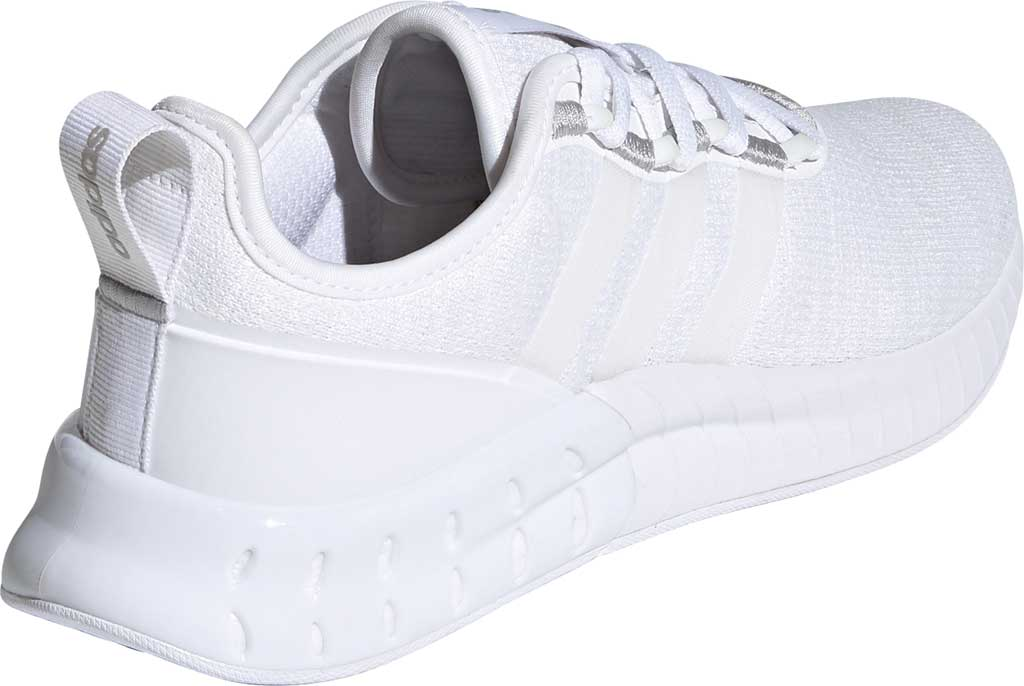 Women's adidas Kaptir Super Running Shoe, FTWR White/FTWR White/Core Black, large, image 4
