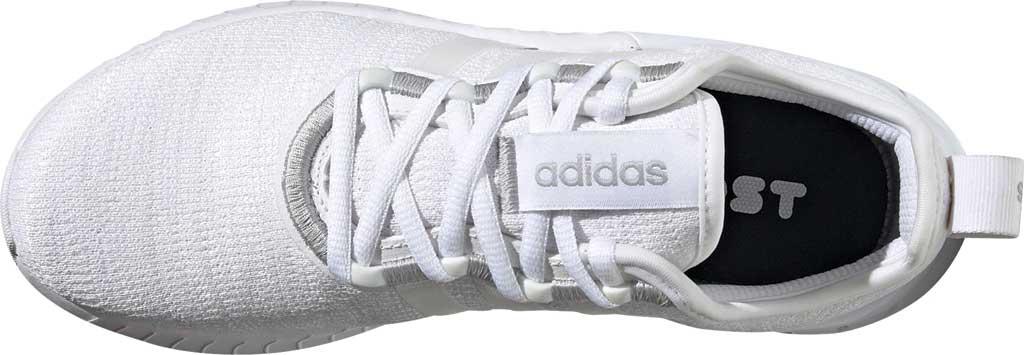 Women's adidas Kaptir Super Running Shoe, FTWR White/FTWR White/Core Black, large, image 5