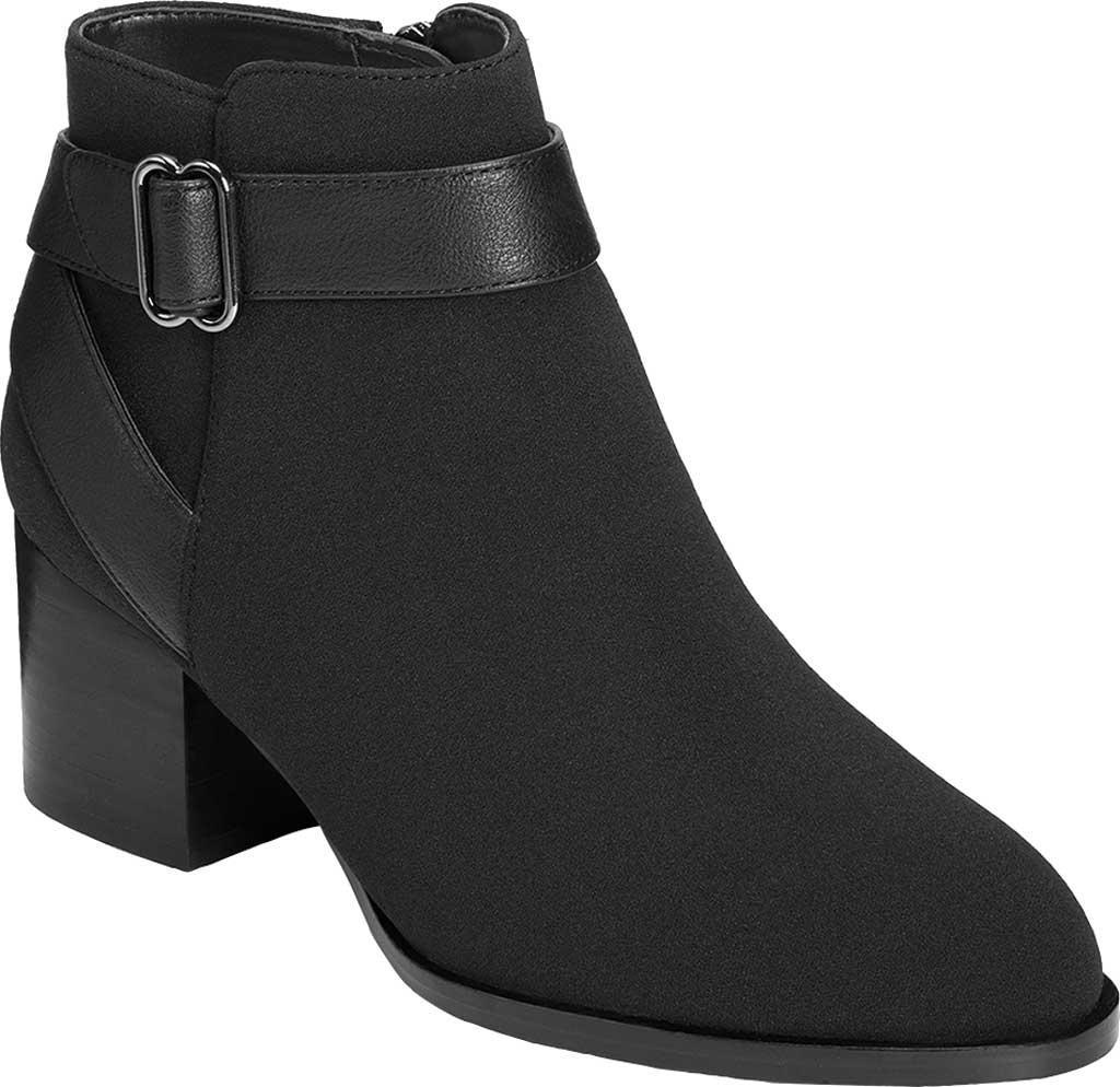 Women's Aerosoles Platinum Maggie Ankle Bootie, Black Fabric, large, image 1