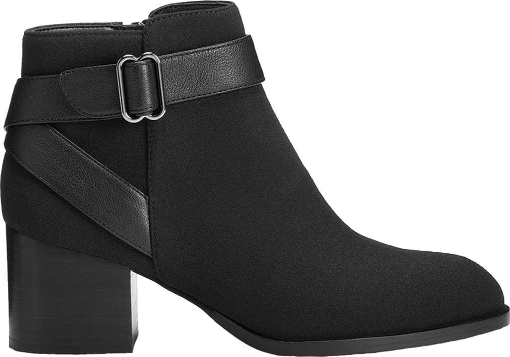 Women's Aerosoles Platinum Maggie Ankle Bootie, Black Fabric, large, image 2