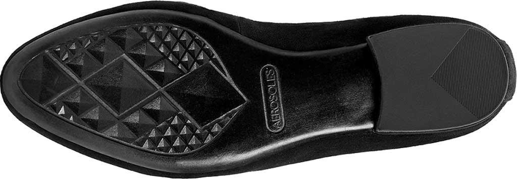 Women's Aerosoles Platinum Outer Limit Loafer, Black Suede, large, image 5