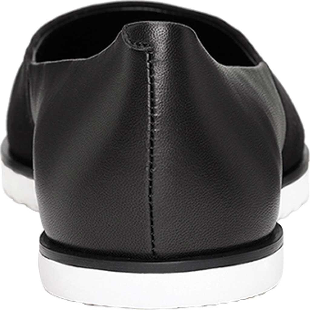 Women's Aerosoles Platinum Night Spell Flat, Black Suede/Leather, large, image 3