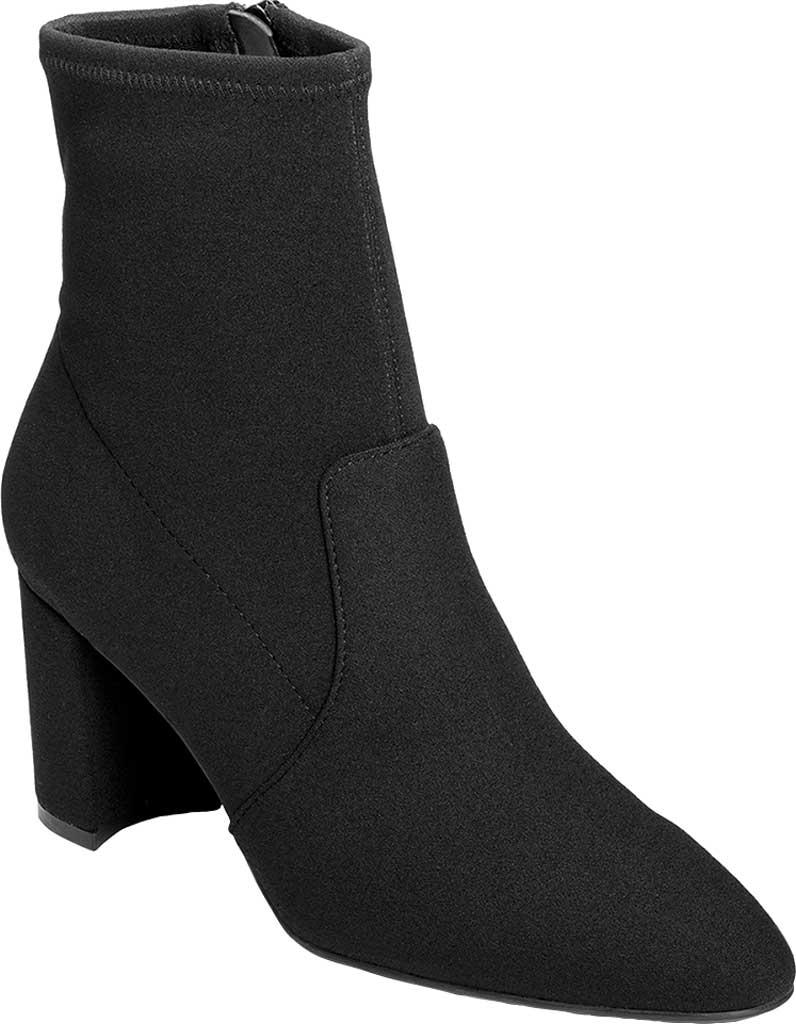 Women's Aerosoles Nikname Block Heel Bootie, Black Synthetic, large, image 1
