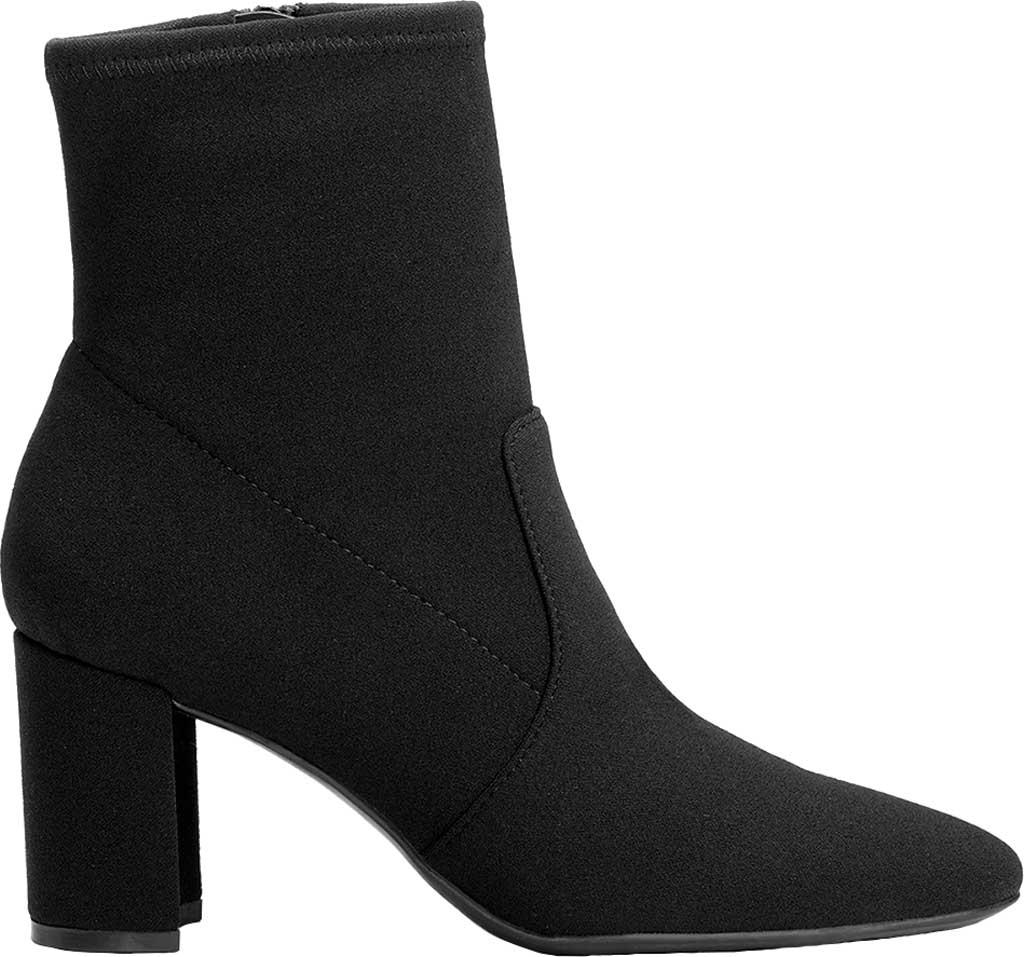 Women's Aerosoles Nikname Block Heel Bootie, Black Synthetic, large, image 2