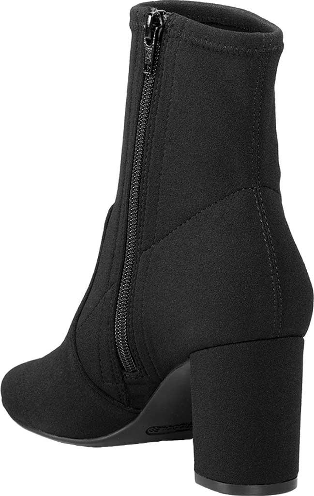 Women's Aerosoles Nikname Block Heel Bootie, Black Synthetic, large, image 3
