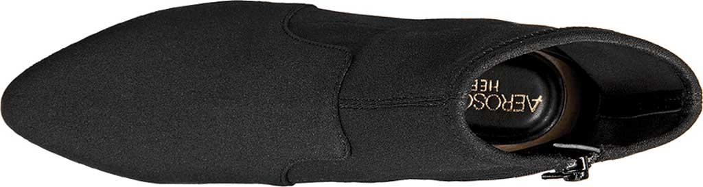 Women's Aerosoles Nikname Block Heel Bootie, Black Synthetic, large, image 4