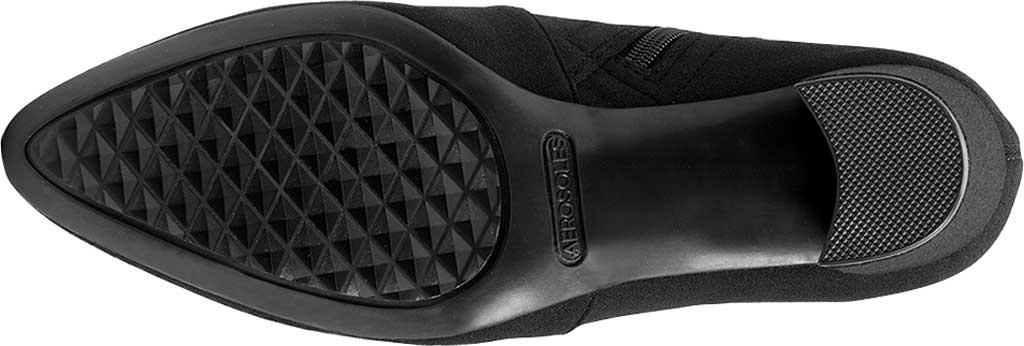 Women's Aerosoles Nikname Block Heel Bootie, Black Synthetic, large, image 5