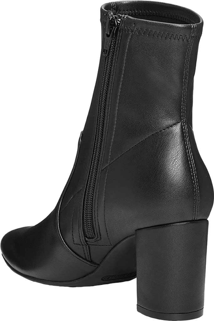 Women's Aerosoles Nikname Block Heel Bootie, Black Textile, large, image 3