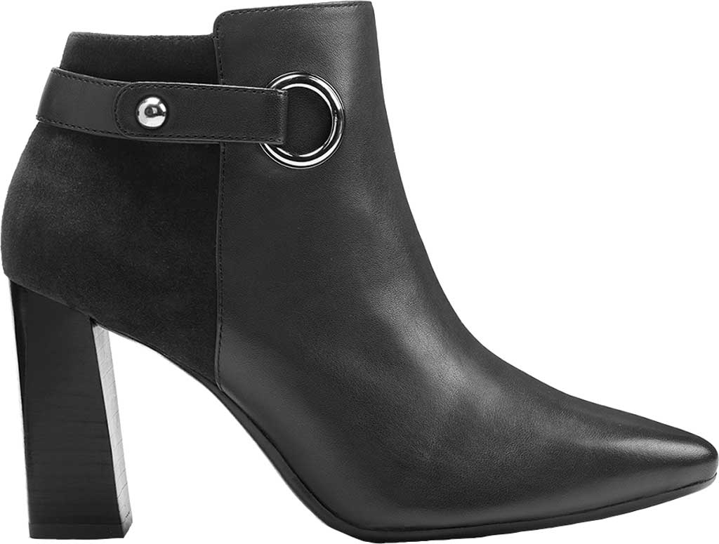 Women's Aerosoles Final Word Ankle Bootie, Black Leather, large, image 2